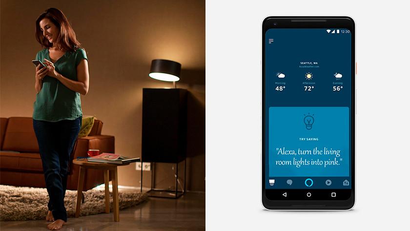 Amazon Alexa & smart lampen