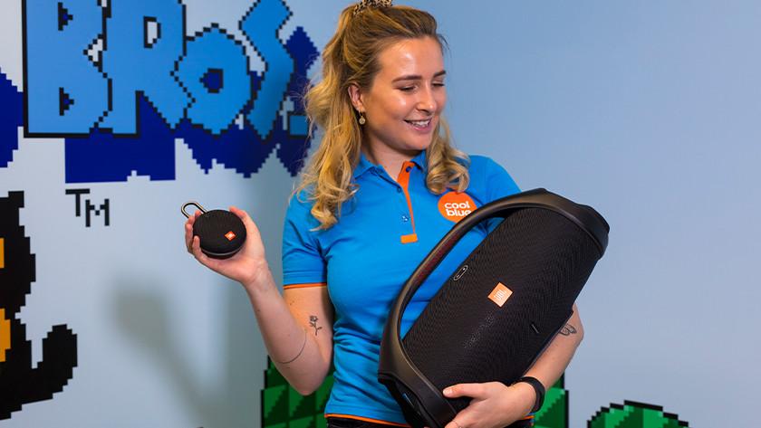 Welk formaat bluetooth speaker heb je nodig