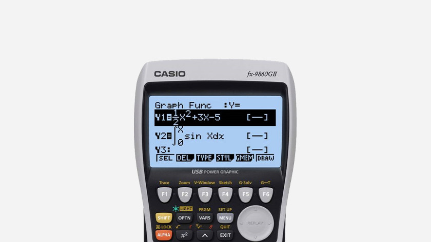 Calculator with backlight