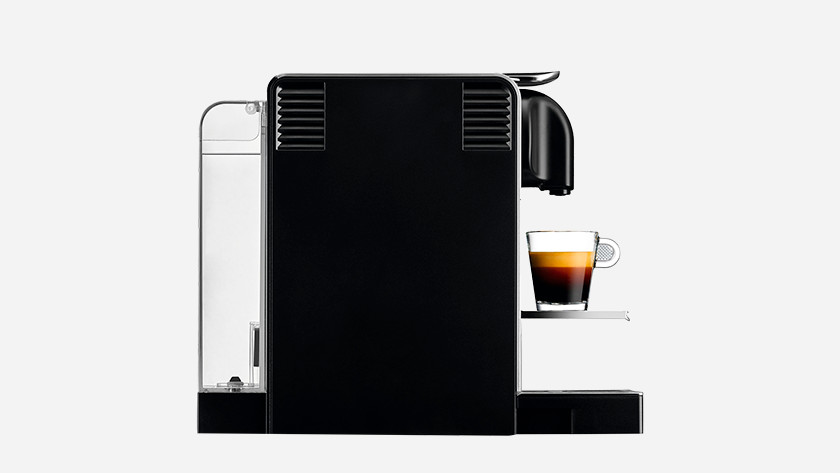 Nespresso with a large water tank