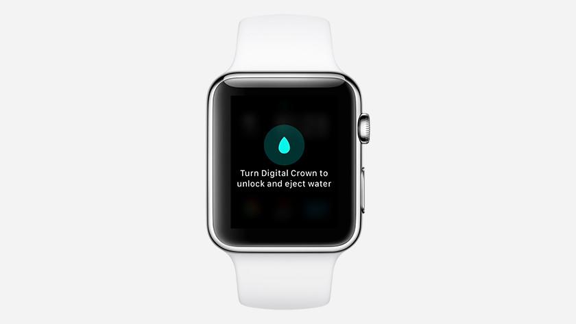 Turn off Water Lock on the Apple Watch