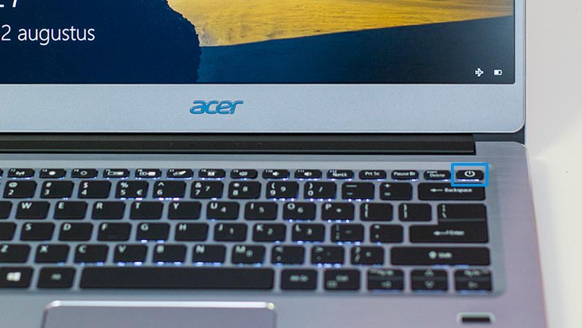 Soft reset op laptop uitvoeren.
