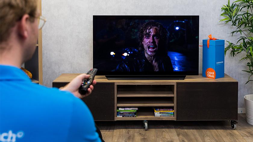 Zwartwaarden en contrast van de LG CX OLED tv