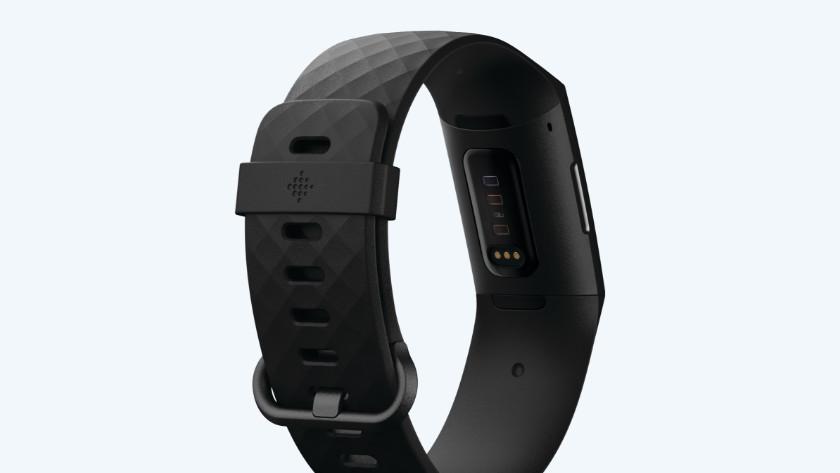 Fitbit Charge 4 sensor achterkant
