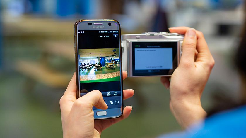Olympus camera's aan de slag