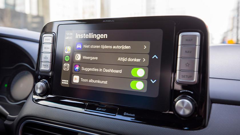 Personaliseer de CarPlay instellingen