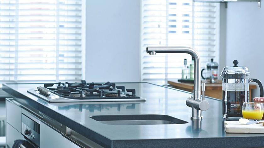Kokend water kraan voor elke keuken