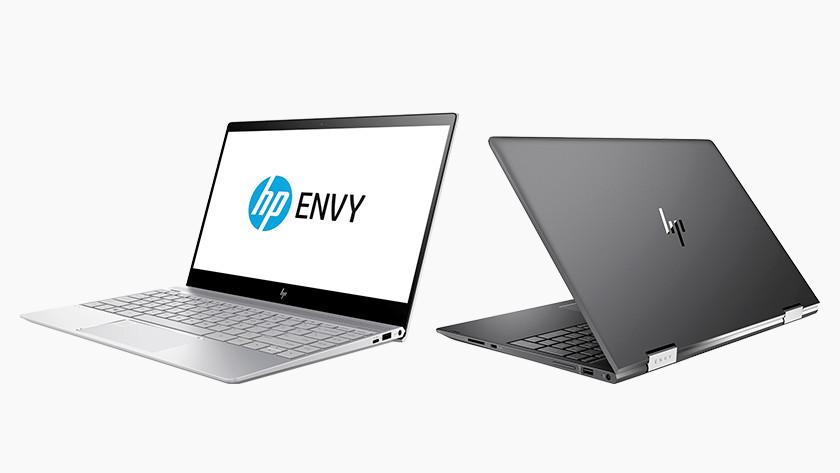 HP Envy laptop.