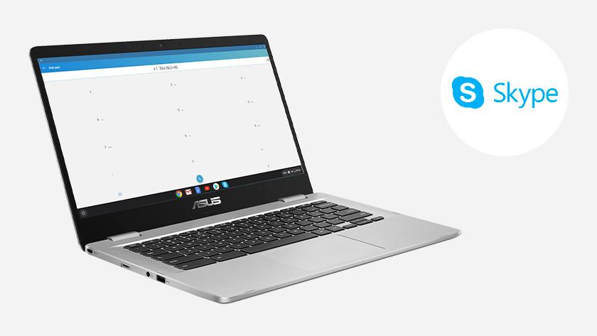 Skype on a Chromebook Asus