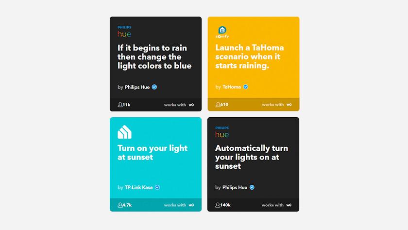IFTTT apps