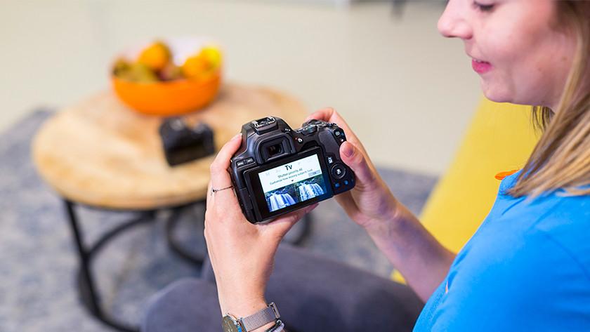 Visuele gids Canon EOS 250D