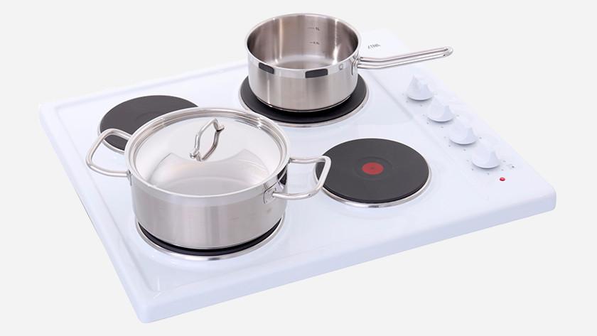 Pannen voor elektrische kookplaat