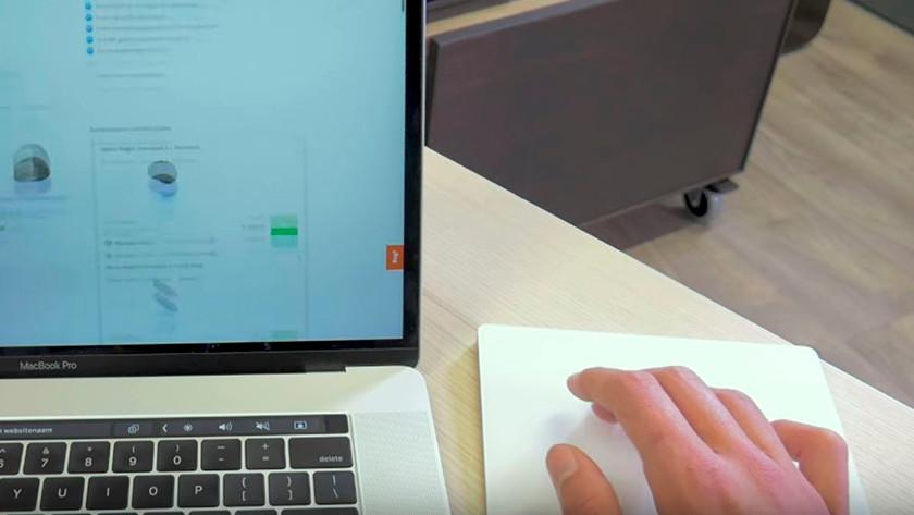 Magic Trackpad use