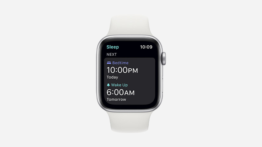 You can also view detailed information about your sleep on the Apple Watch.