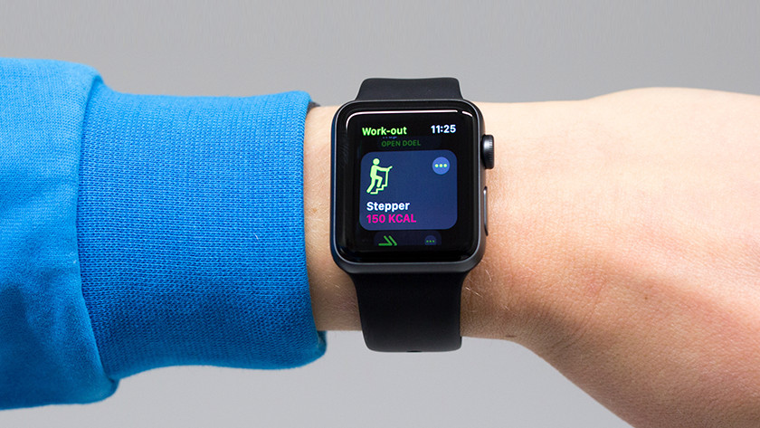 Working out with the Apple Watch 3