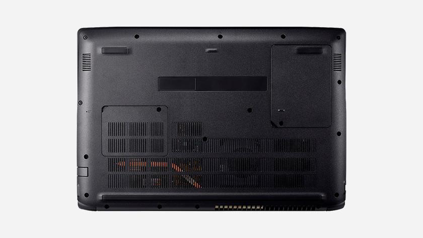 Bottom Acer laptop.