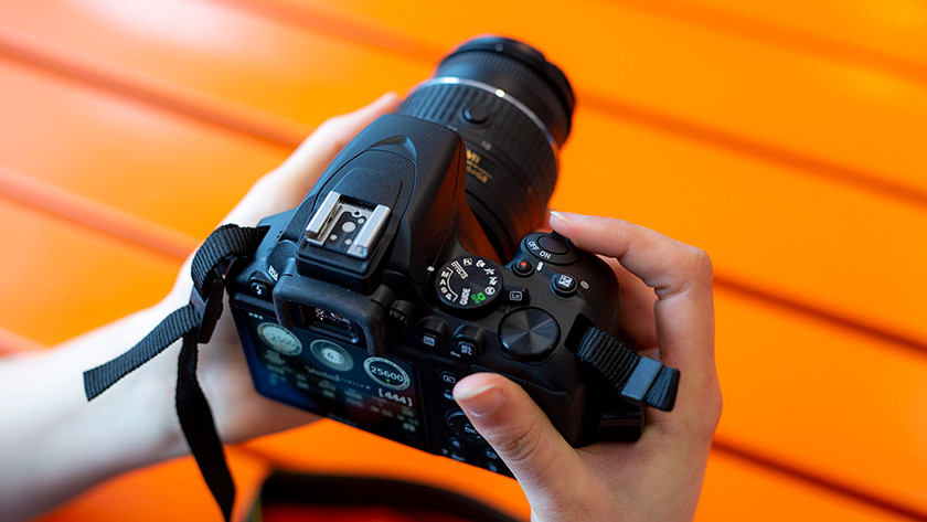 Camera aanzetten