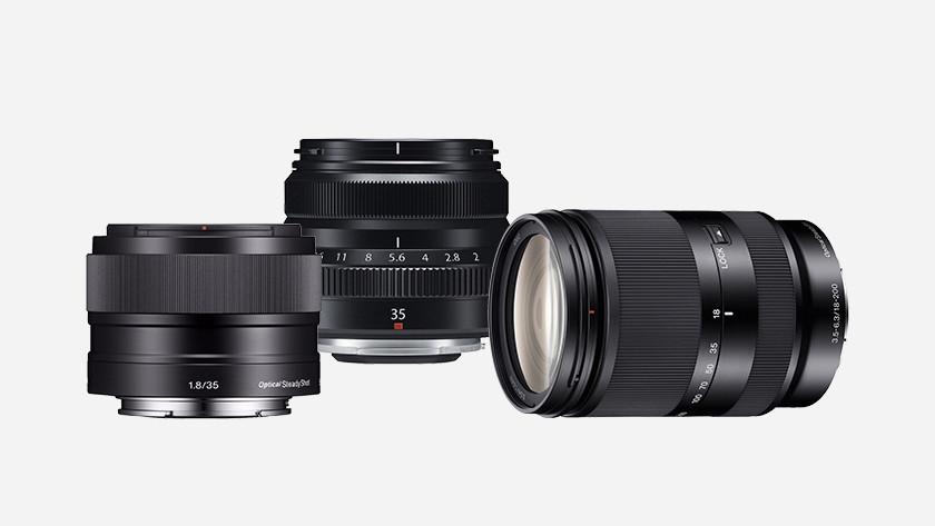 Lenses for mirrorless camera