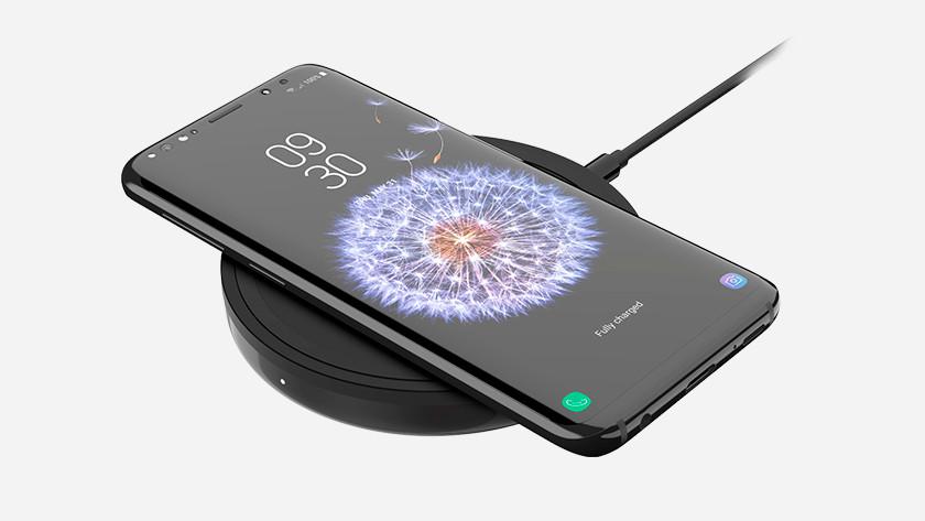 Samsung Galaxy S9 draadloos opladen