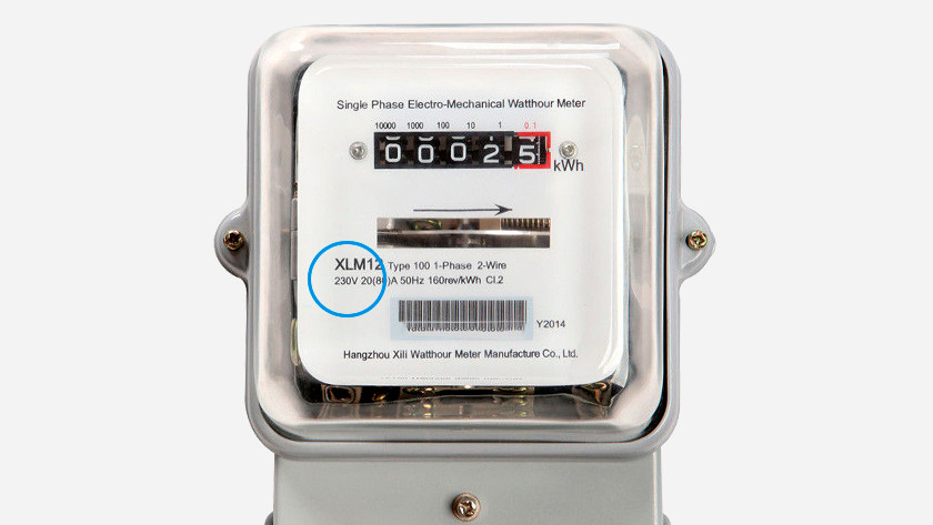 1 phase electricity meter