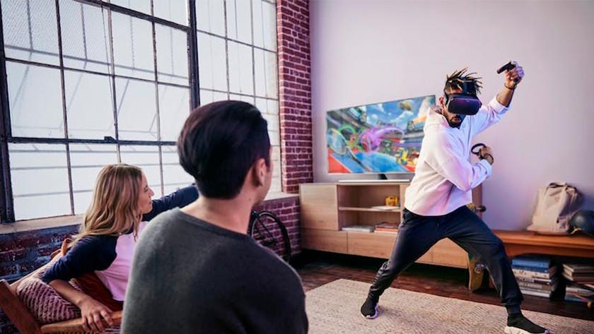 draadloos VR met Oculus Quest