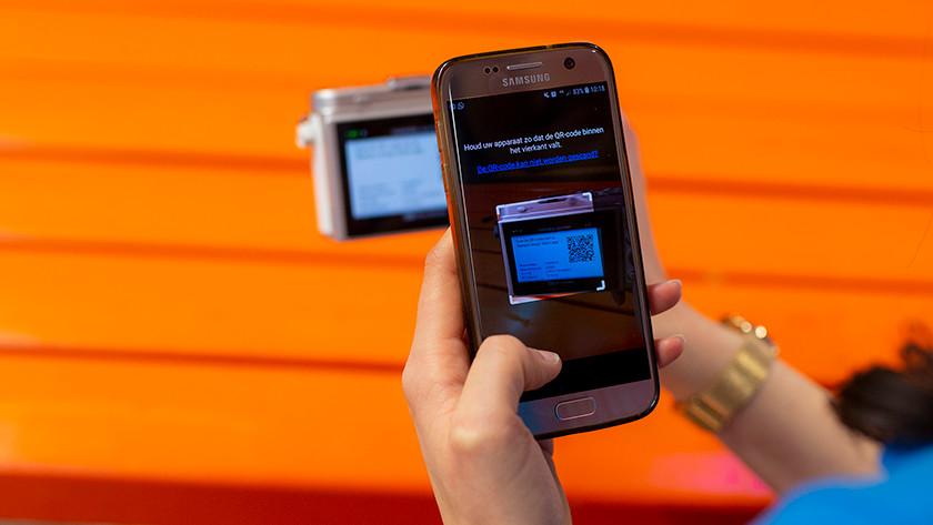 Smartphone verbinden met camera