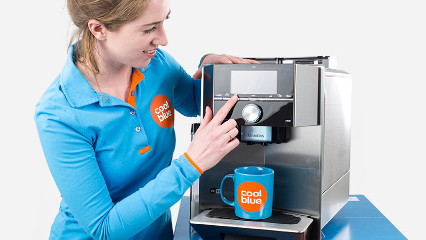 Koffiemachine onderhouden