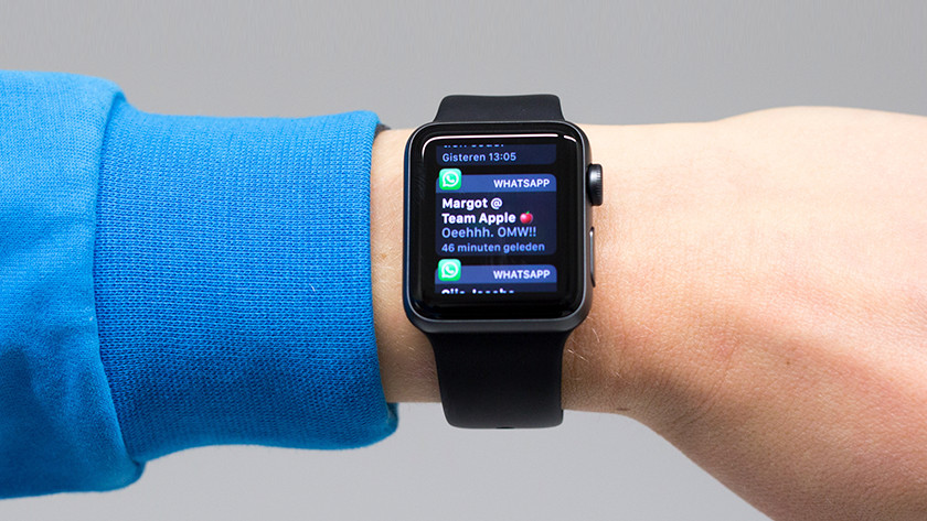Receive messages on the Apple Watch 3