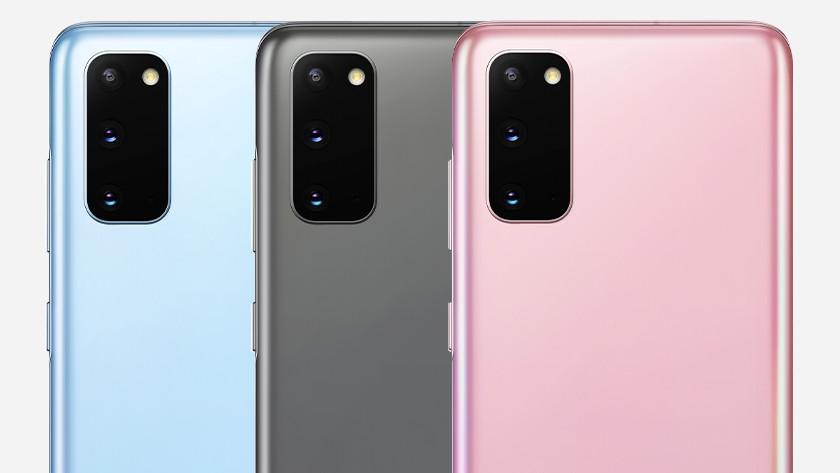 Verschil Samsung S10 en S20 batterij