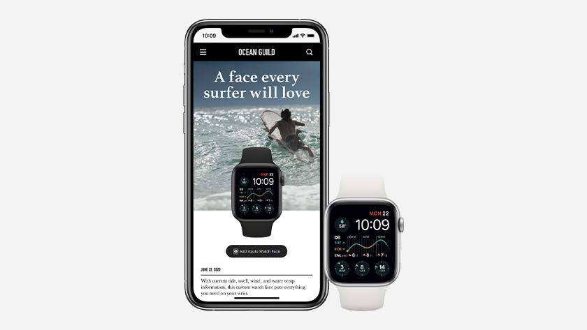 You can also easily download watch faces from websites or social media thanks to watchOS 7.