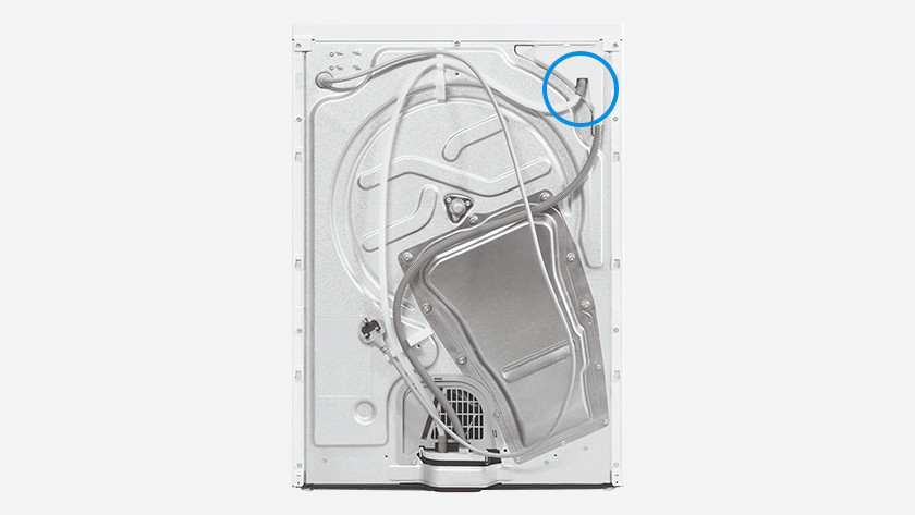 Whirlpool back dryer