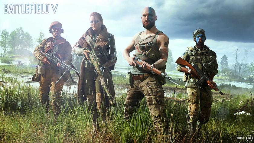 Battlefield V classes
