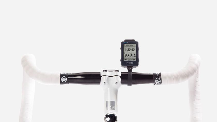 Racefiets met fietsnavigatie