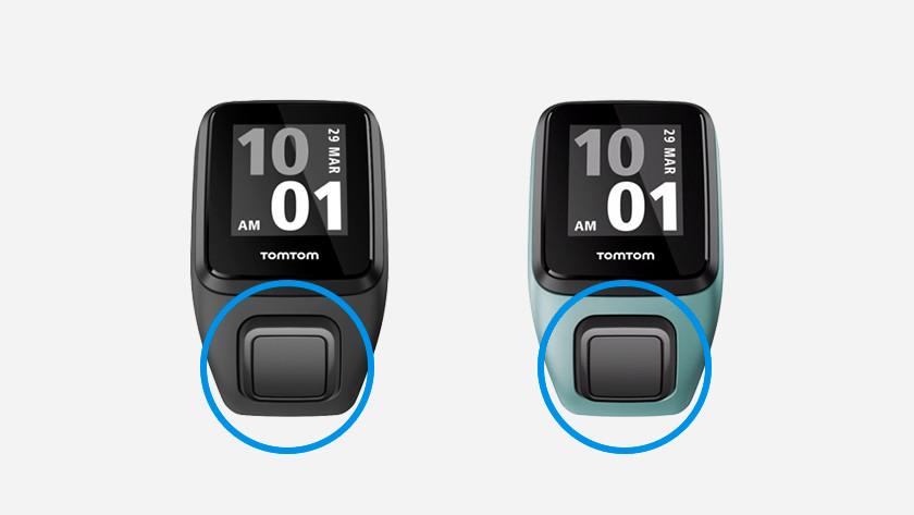TomTom Runner Spark controls