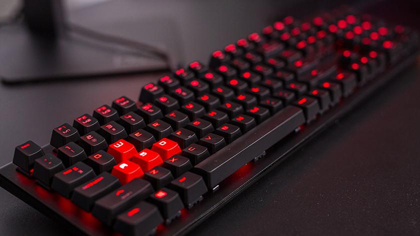 HP Omen gaming toetsenbord.