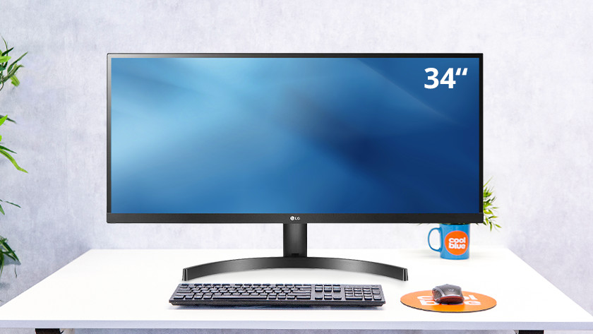 34-inch ultra wide screen