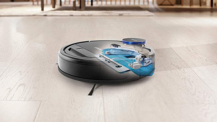 robot vacuum with mopping function