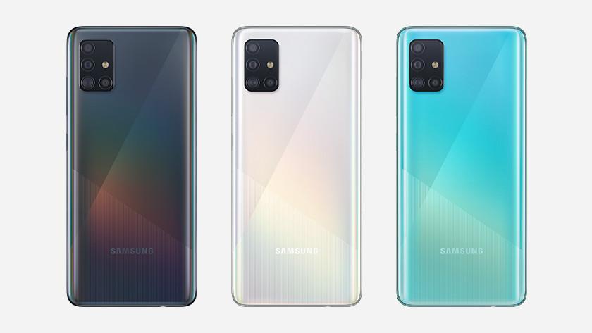 Samsung Galaxy A51 lineup memory