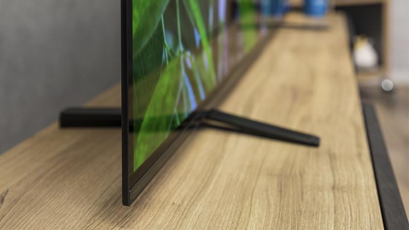 Ontwerp van de Sony A8 OLED tv