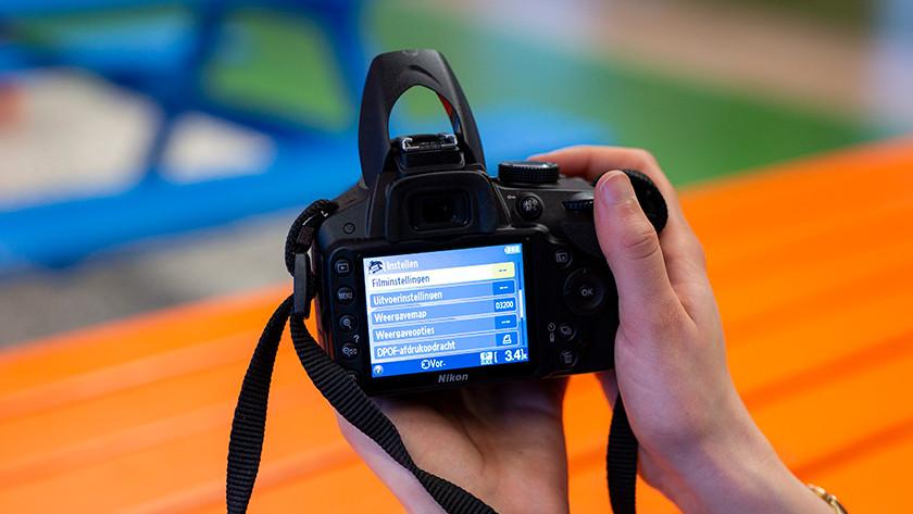 Camera-instellingen aanpassen