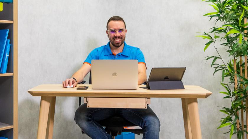 Thuiswerken met Macbook, iPad en iPhone