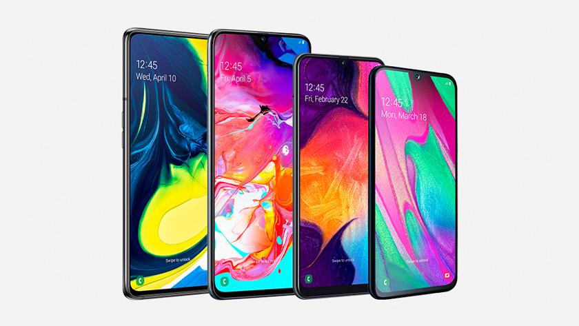 Samsung Galaxy A en J serie waterdicht