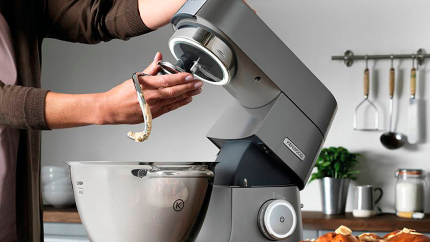 Kenwood stand mixer with dough hook