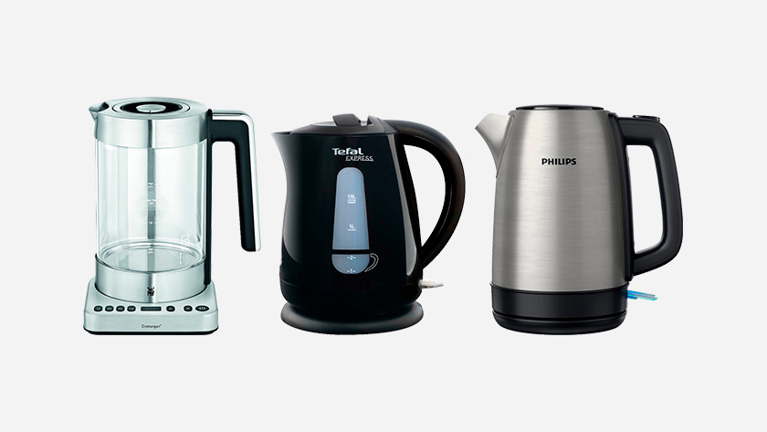 What does the casing material say about a kettle?