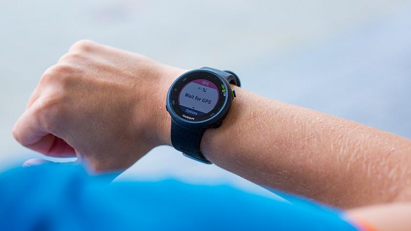 Smartwatch zoekt gps signaal