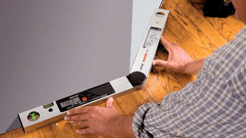 Calculating the angle for baseboards