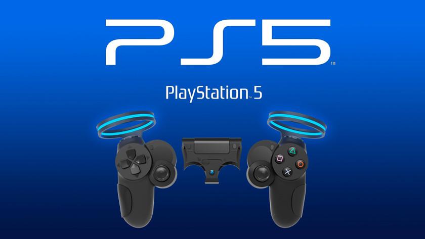 PS5 controller mogelijk ontwerp