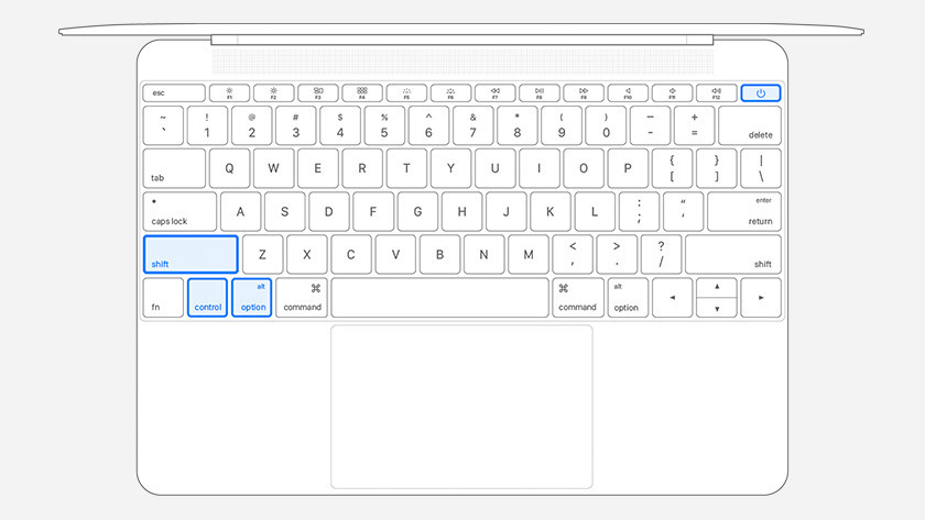 Apple MacBook zonder Touch ID resetten