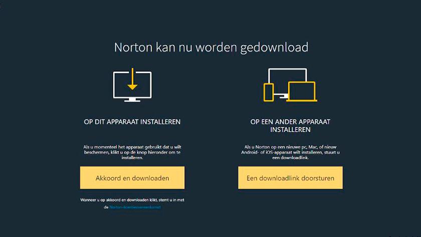 Norton Akkoord en downloaden