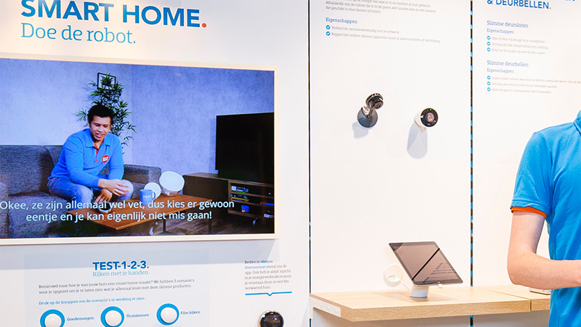 Thermostaat close up smart home wand Tilburg